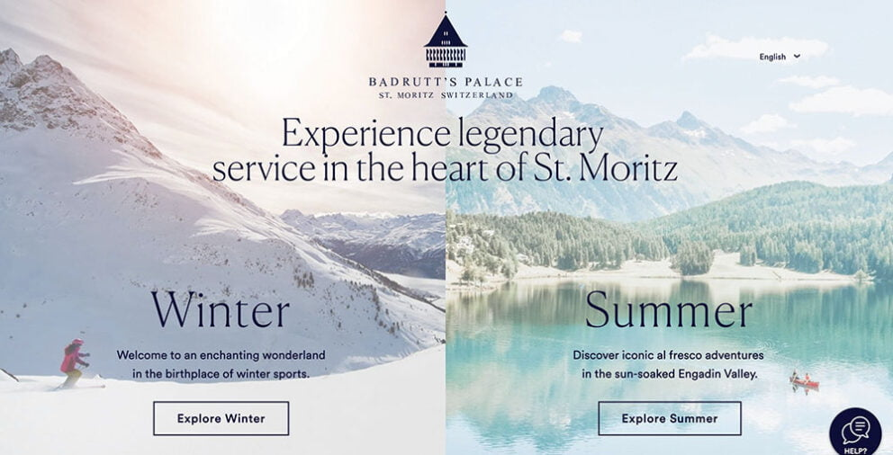 Badrutt's Palace Switzerland