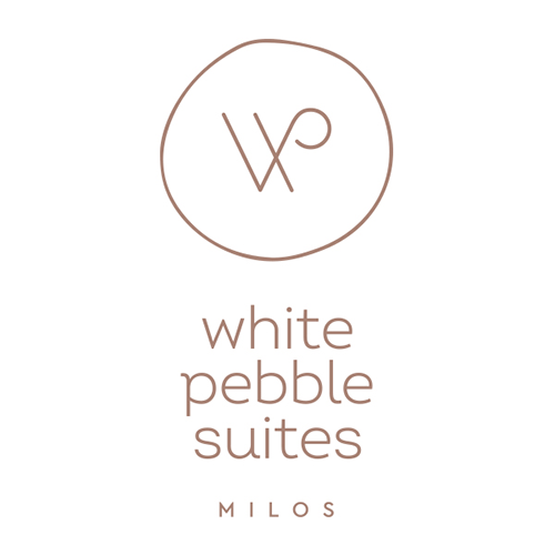 White Pebble Suites Logo